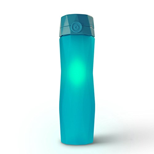 Hidrate Spark 2.0A Smart Water Bottle - NEW & IMPROVED - Tracks Water Intake & Glows to Remind You to Stay Hydrated (Teal) by Hidrate Spark