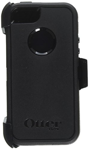 Otterbox Defender Belt Clip & Holster Series Black Case for iPhone 5/5S