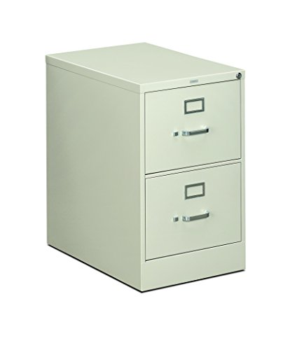 HON 312CPQ 310 Series 26-1/2-Inch 2-Drawer Full-Suspension Legal File, Light Gray