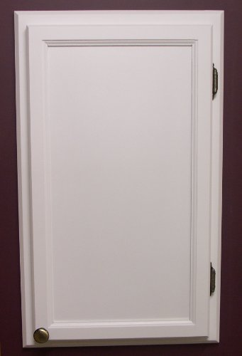 ACC-2 Solid wood custom size access panel frame and door, Easily cover breakers, fuses, electrical access, plumbing access, holes in the wall, choice of color and door swing direction, to cover openings up to 18″w x 42″h.