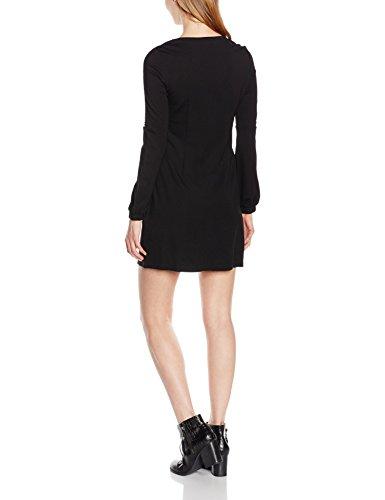 R828H16 Molly Taille Manches longues fabricant Femme Uni Noir XS 34 FR Robe Bracken Black wUCU5qF