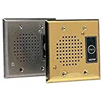 Valcom VIP-172AL-ST Durable Flush Mount Brushed Stainless Steel Plate With Call Button And Led