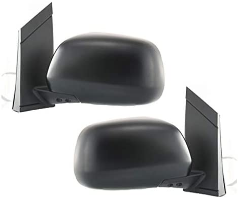 NEW LEFT POWER MIRROR BLACK WITH HEATED FITS 2004-2010 TOYOTA SIENNA TO1320205