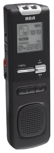 RCA VR5220 512 MB Digital Voice Recorder (Black)