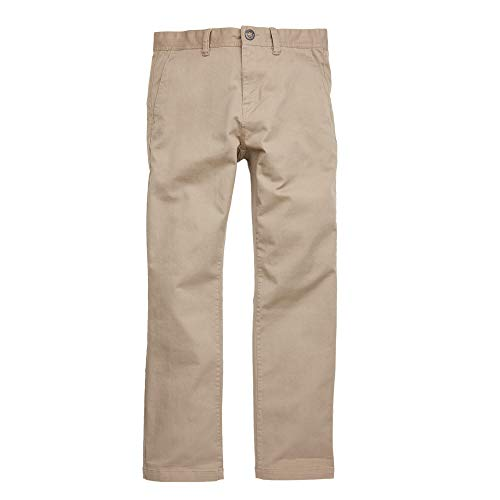 Volcom Men's Frickin Regular Chino Pant, Khaki, 30
