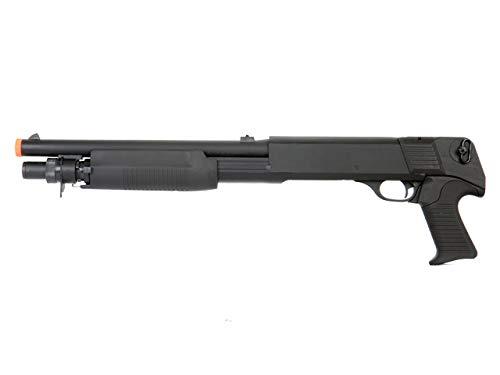 Double Eagle DE M3 Multi-Shot Triple Burst Sawed Off Airsoft Tactical Shotgun by Double Eagle
