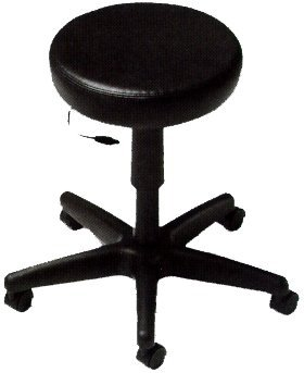 Global File Buddy Pneumatic Swivel Stool Overall Dimensions: 14