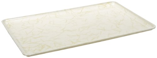 Fiberglass Natural Trays (Carlisle 1219LDFG030 Fiberglass Glasteel Decorative Low Edge Tray, 19.00