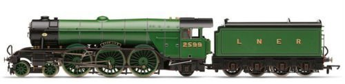 Hornby 00 Gauge V LNER Class A3 Book Law Steam Locomotive for sale  Delivered anywhere in USA