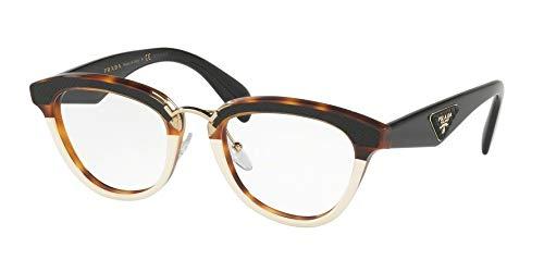 Prada 0Pr 26Sv Havana Eyeglasses, Brown, Size 51/21/140