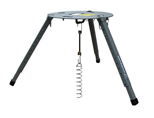 King Dome Satellite Antennas - Winegard TR-1518 Satellite Tripod Mount (Compatible with Carryout, Pathway and Playmaker RV Satellite Antennas) - Adjustable Height