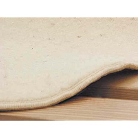 Naturally Safer Pure Wool Underbed Organic Mattress Pad Size Twin