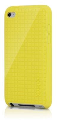 SPECK PixelSkin HD iPod Touch Case - Yellow (Speck Pixelskin Ipod 4 Case)
