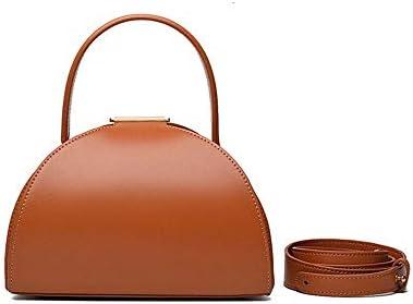 ハンドバッグ - ヴィンテージショルダーバッグハンドバッグ、21センチメートル* * 16センチメートル13センチメートル、肩ベルト120センチメートル よくできた (Color : Brown)