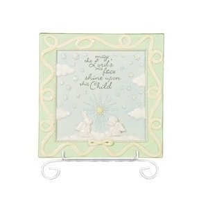Grasslands Road Heaven Sent Nursery Plaque, May the Lord Shine Upon This Child by Grasslands Road