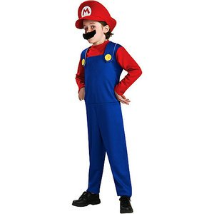 [Super Mario Costume - Small] (Nintendo Costumes For Adults)