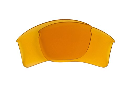 Best SEEK OPTICS Replacement Lenses Oakley FLAK JACKET - Hi Intensity Yellow - Oakley Lenses Shooting