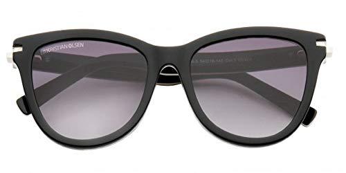 de lente con Mariposa de sol y marca Gafas patillas estilo Patillas color Leopard Mujer negro y en detalles vq7cZSw