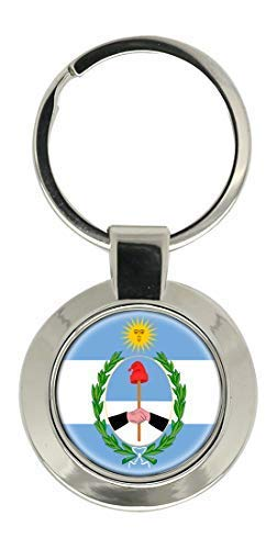 ARGENTINA SAN JUAN provincia de Escudo cromado LLAVERO ...
