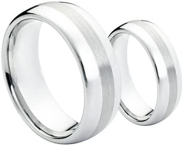 Cobalt Chrome Ring Cobaltdomed1-3 product image 3