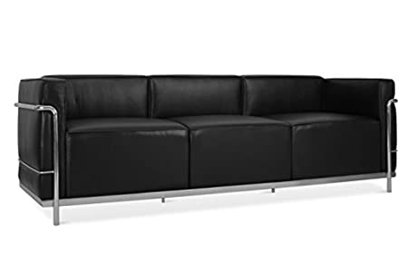Charles Le Corbusier Lc3 Grand Confort 3 Seater Sofa Amazoncouk