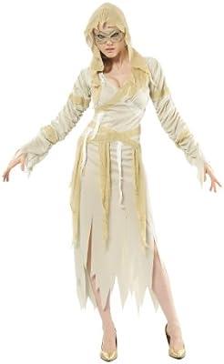 Disfraz de momia para mujer ideal para Halloween: Amazon.es ...
