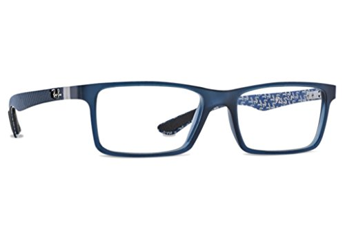 Ray-Ban RX8901 Carbon Eyeglasses-5262 BlueBlue Texture-53mm