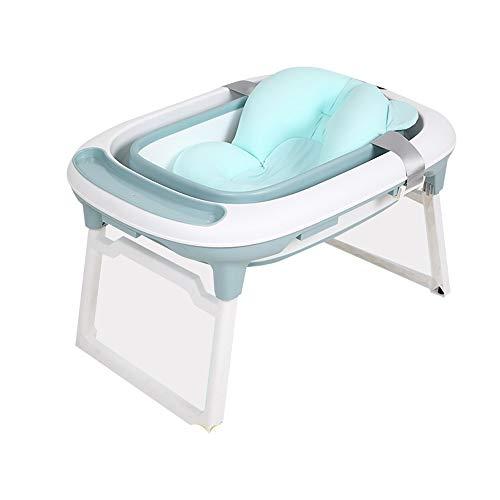 Outdoor Bathtub - Baby Tub Folding Bath Tub Baby Bath Bucket Can Sit Lying Child Home Swimming Bath Bucket Children's Products -\# (Color : E)