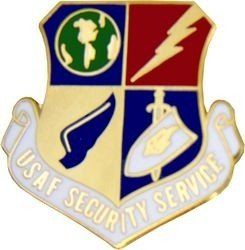 - US Air Force Security Service Lapel Pin
