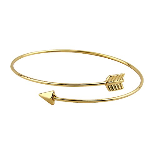 zuobao-stacking-arrow-bangle-bracelet-with-delicate-thin-brass-wire-gold