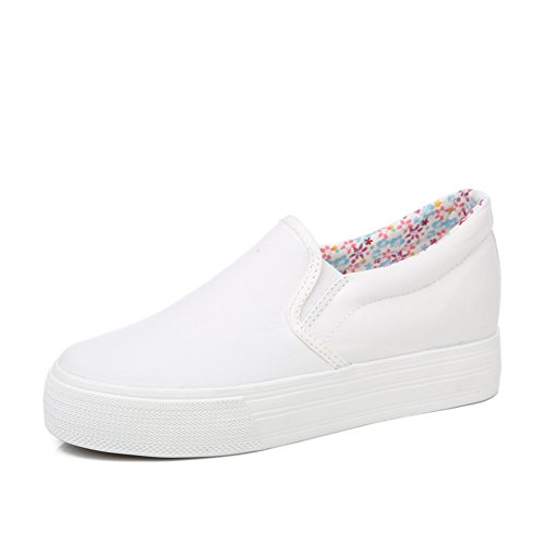 Verano perezoso y uno llevaba zapatos blancos/Zapatos alta transpirables/Zapatos de Lok Fu Muffin/Zapatos del estudiante C
