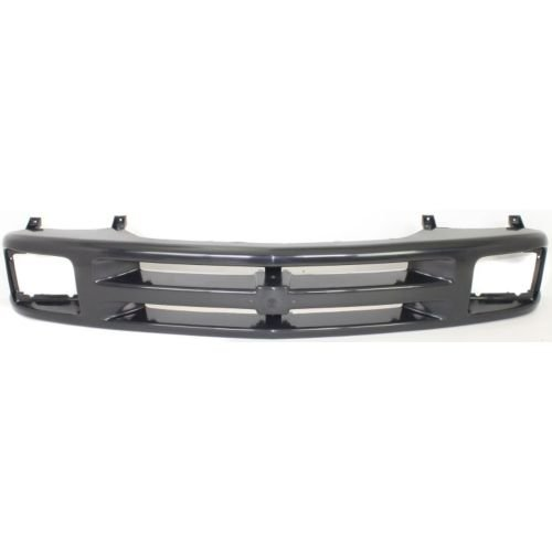 Perfect Fit Group 6986 - S10 Pickup / Blazer Grille Frame, Painted-Black, W/ Sealed Beam Headlight