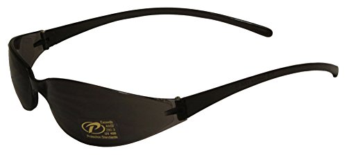 Kickstart Skinny Joes Wrap Around Smoke Lens Sport Sunglasses