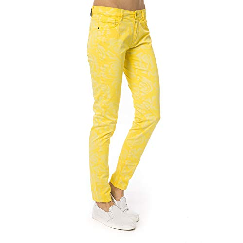 Pantalones Made Collection Giallo Mujer Italy yellow Trussardi In tf5qTw7Tx