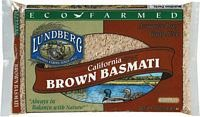 Eco-Farmed Basmati Brown Rice by LUNDBERG FAMILY FARMS