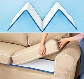 Amazon.com: Cojín de sofá sofá Saver flaccidez paneles ...