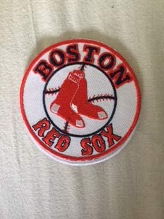 8 CM BLUE HAWAI ECUSSON Patches AUFNAHER Toppa THERMOCOLLANT Boston Red SOX