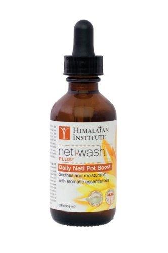 Himalayan Institute Neti Wash Plus, Daily Neti Pot Boost 2 fl oz(pack of 1)