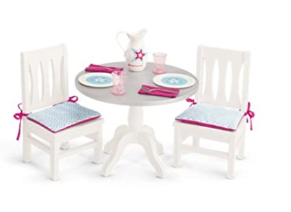 Amazoncom American Girl Dining Table And Chairs For 18 Inch Dolls