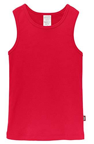 City Threads Little Girls' Cotton Racerback Racer Back Razer Back Tank Top T-Shirt Tee Tshirt Summer Dance Play School Sports Sensitive Skin SPD Sensory Sensitive Clothing, Candy Apple, 5]()