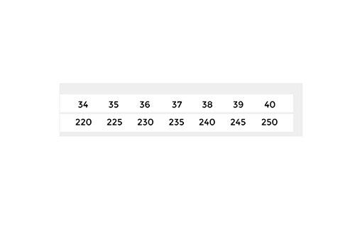 DHG Tacón Sandalias Tacones de Ocasionales Dulces Moda de Mujer de Verano Pulir Planas Color Sólido Punta de de bajo Sandalias Sandalias Zapatillas 39 Altos de rHnwqrz1