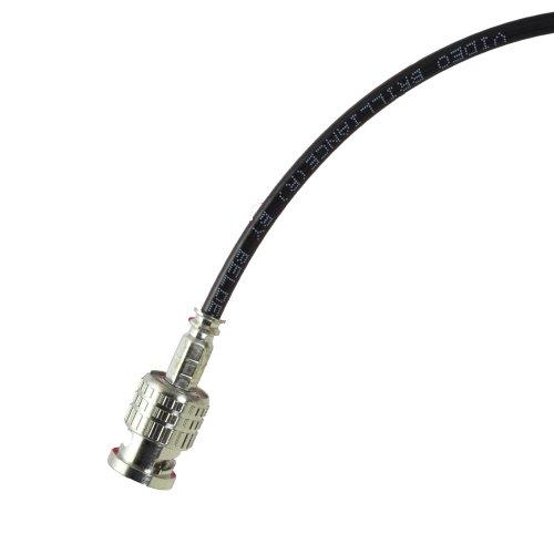 10 foot Black BJC Mini 3G/6G HD SDI cable (Belden 1855A), BNC to BNC