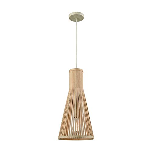 - Modern Chandeliers Pendant Hanging Light Fixture Ceilling Hanging Lamp Wooden Artichoke Lamps for Restaurant,Kitchen Island,Dining Room and Bedroom, Nordic Minimalistic Style Pendant Lamp