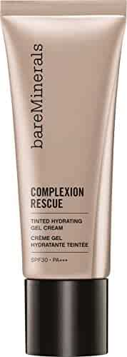 bareMinerals Complexion Rescue Tinted Hydrating Gel Cream, Vanilla 02, 1.18 Ounce