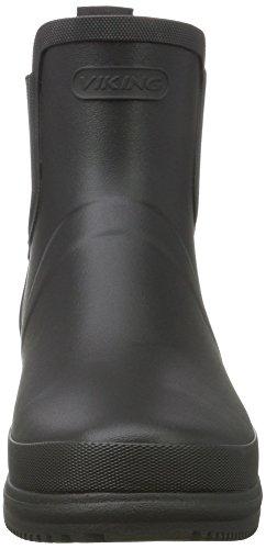 2 Boots Black Viking Women's Gyda Black UK 8 Yellow Wellington qzCU7nUpF