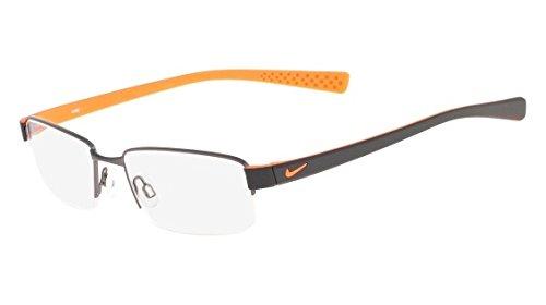 Eyeglasses NIKE 8160 070 BRUSHED GUNMETAL/TOTAL ORANGE