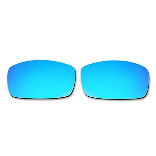 Hkuco Mens Replacement Lenses For Spy Optic Logan Sunglasses blue