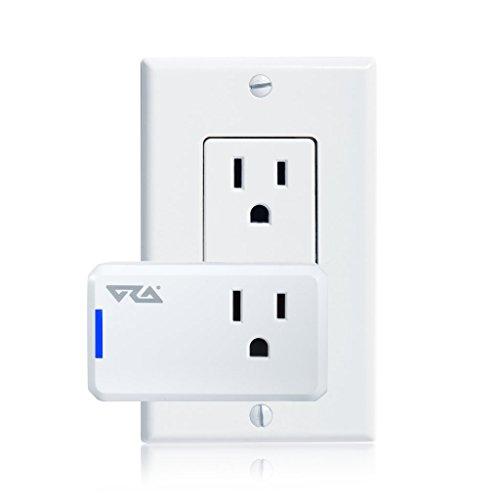 Ora Alexa-Enabled Wi-Fi Mini Smart Plug, White (Pack of 2) by ORA (Image #1)