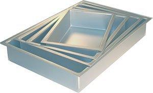 Fat Daddios POB-12183 Anodized Aluminum Sheet Cake Pan, 12 x 18 Inch x 3 Inch
