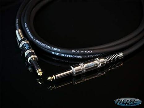 Cable jack TS 5 metros para guitarra, bajo, teclado, mexcladores ...